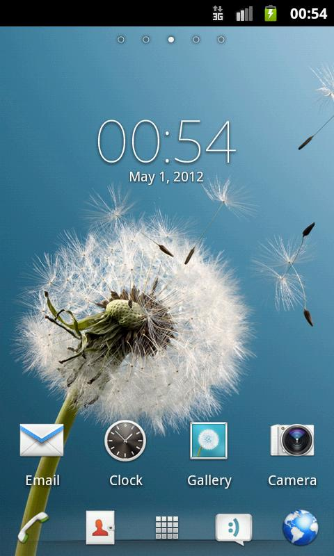 Xperia S GO Launcher EX Theme - screenshot
