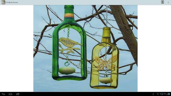 Diy wind chimes android apps on google play for Wind chime design ideas