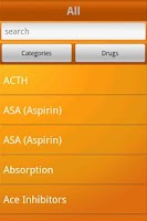 Screenshot of NurseTabs: Pharmacology