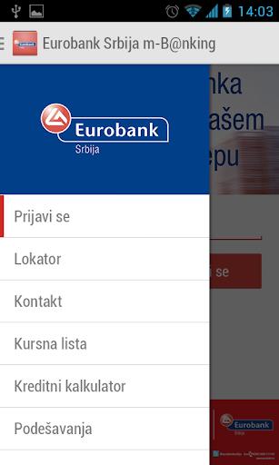 Eurobank Srbija m-B nking
