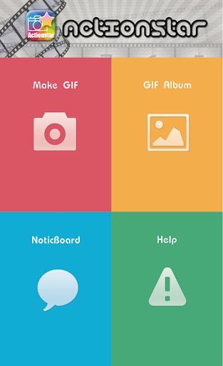 ActionStar - GIF Camera Player