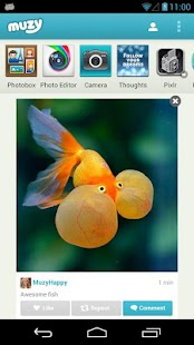 Muzy - Share photos & collages- screenshot thumbnail
