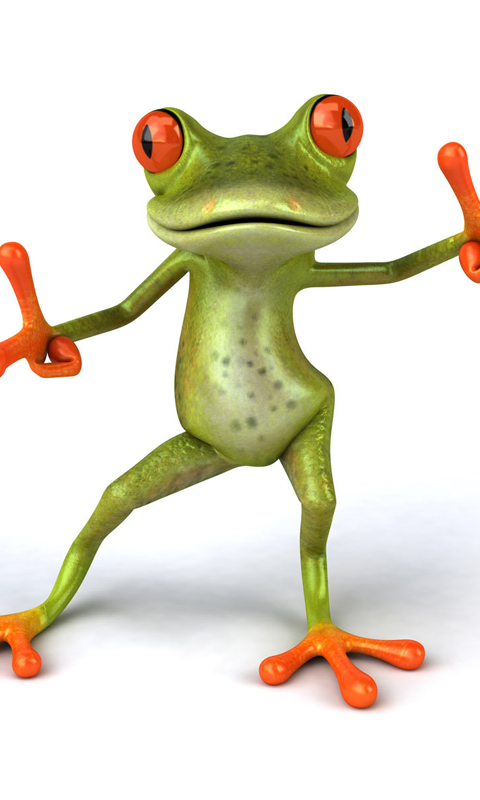 Cartoon Frog Live Wallpaper - screenshot