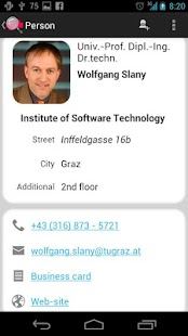 TU Graz Search - screenshot thumbnail