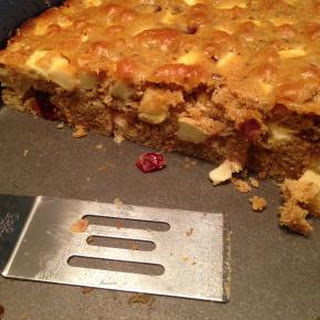 Flavorful Cranberry Apple Coffee Cake