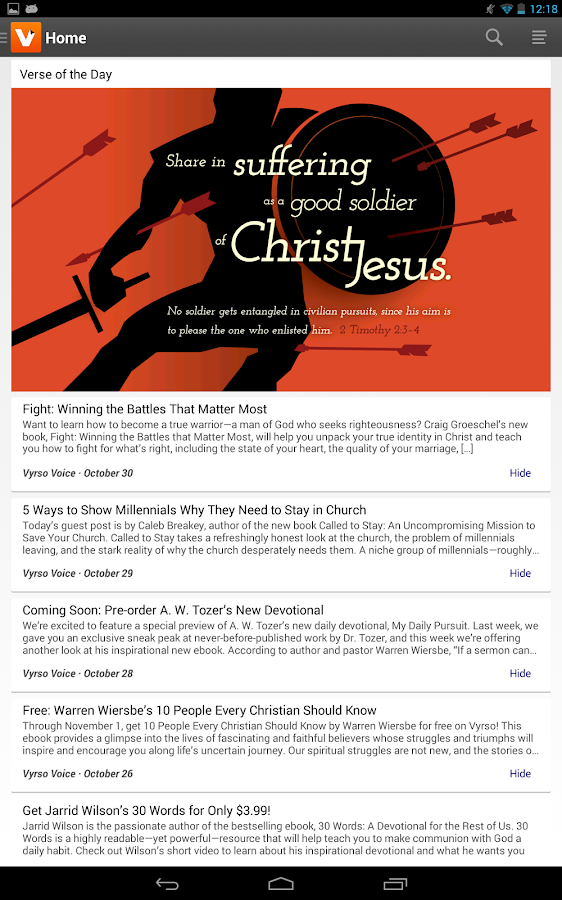 Vyrso christian ebooks android apps on google play vyrso christian ebooks screenshot fandeluxe Epub