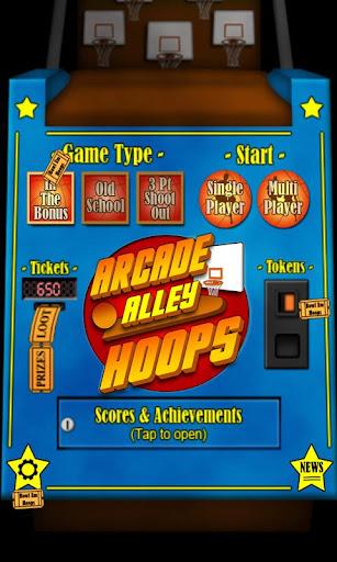 Arcade Alley Hoops