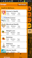 Screenshot of Period Tracker Pro (Pink Pad)