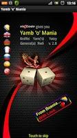 Screenshot of Yamb o Mania