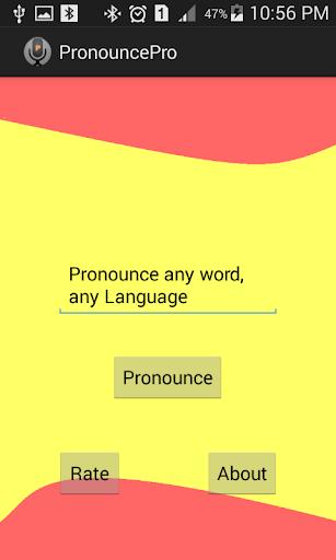 【免費教育App】PronouncePro-APP點子