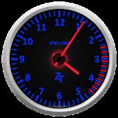 Tachometer Clock Combo Set