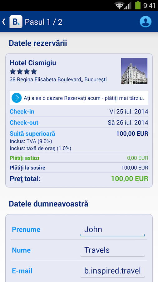 Booking.com 445.000+ hoteluri - screenshot