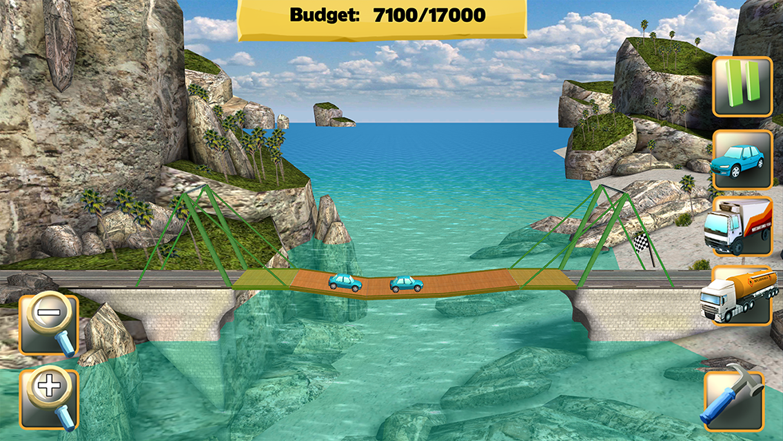 Bridge Constructor screenshot #3