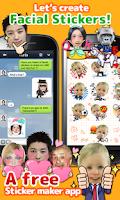 Screenshot of StickerMe Free Selfie Emoji