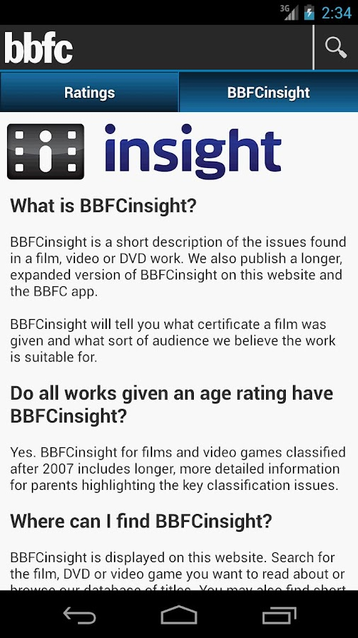 BBFC - screenshot