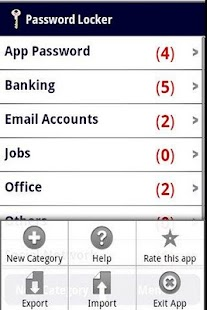 Password Locker- screenshot thumbnail