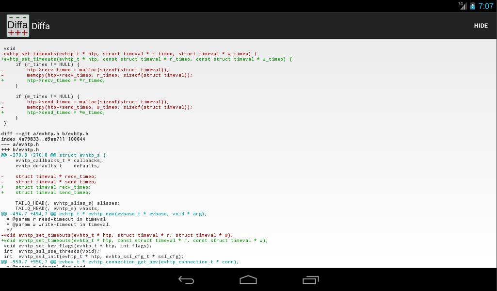 Diffa - screenshot