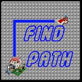 Find Path Puzzle Lego Brick