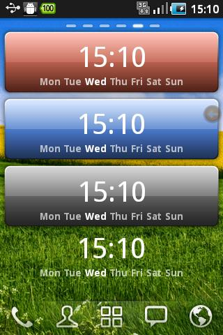 Caynax Digital Clock Widget v1.6