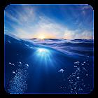 Blaue Live Hintergrund icon