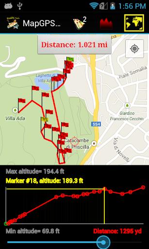 Map GPS tools