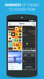 Themer: Launcher, HD Wallpaper Screenshot 1