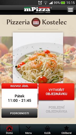 Pizza Kostelec n. Č. Lesy