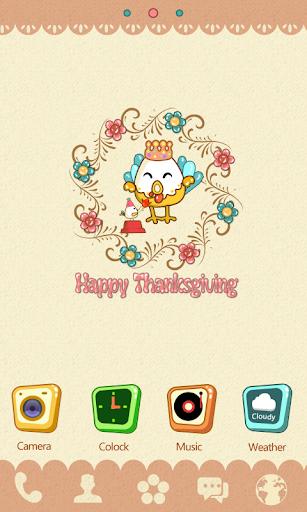 Happy Thanksgiving GO Theme