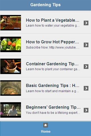 Gardening Tips Video