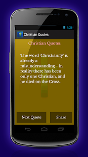 Christian Quotes - screenshot thumbnail