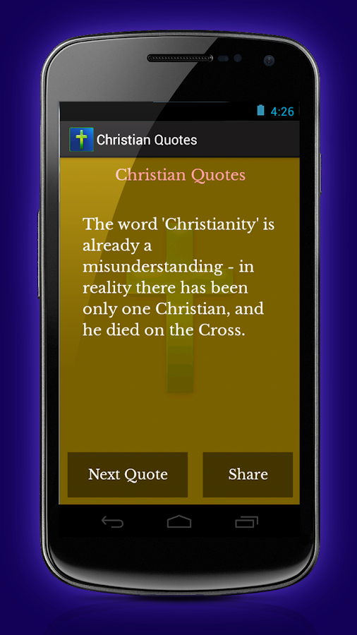 Christian Quotes - screenshot