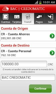 Mobile Banking BAC Credomatic- screenshot thumbnail