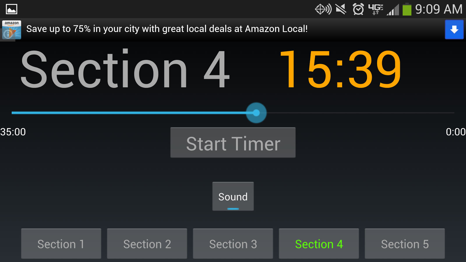 LSAT Timer - screenshot
