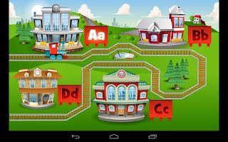 Screenshot of Kids ABC Letter Trains (Lite)