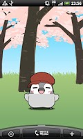 Screenshot of Pesoguin LWP SAKURA -Penguin-