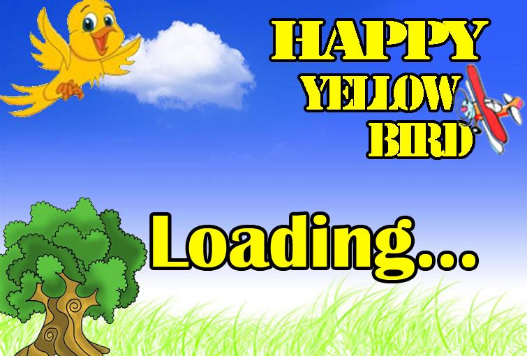 Happy Yellow Bird - screenshot