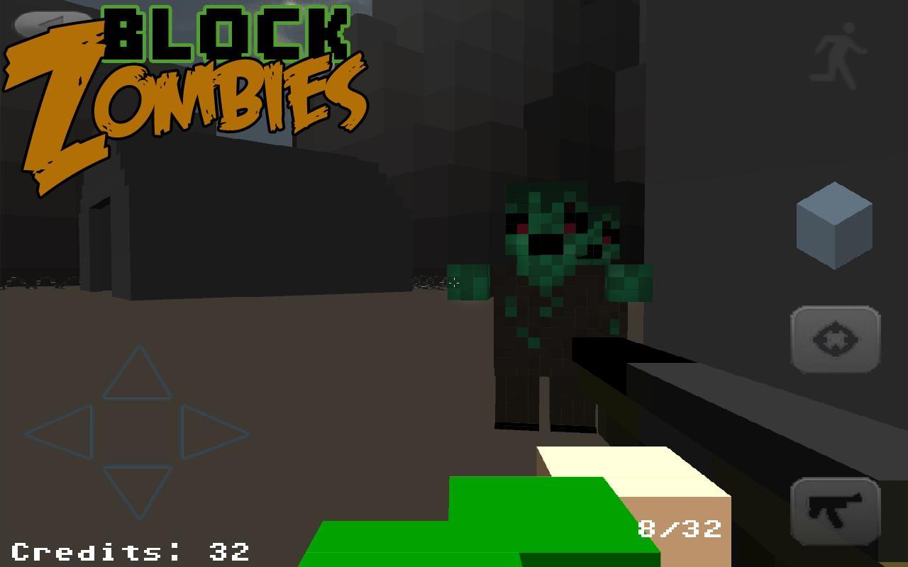 Block Warfare: Zombies- screenshot