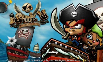 Screenshot of iSink U: Pirates Edition