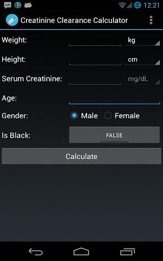 Multiple Creatinine Clearance