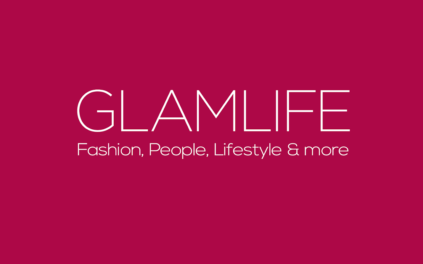 GLAMLIFE - screenshot
