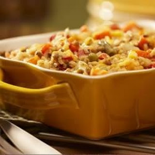 Vegetarian Brown Rice Casserole.