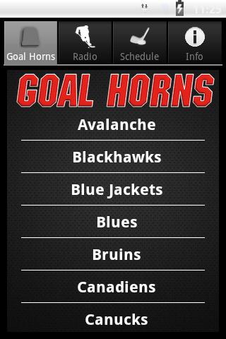 Hockey Goal Horns- screenshot