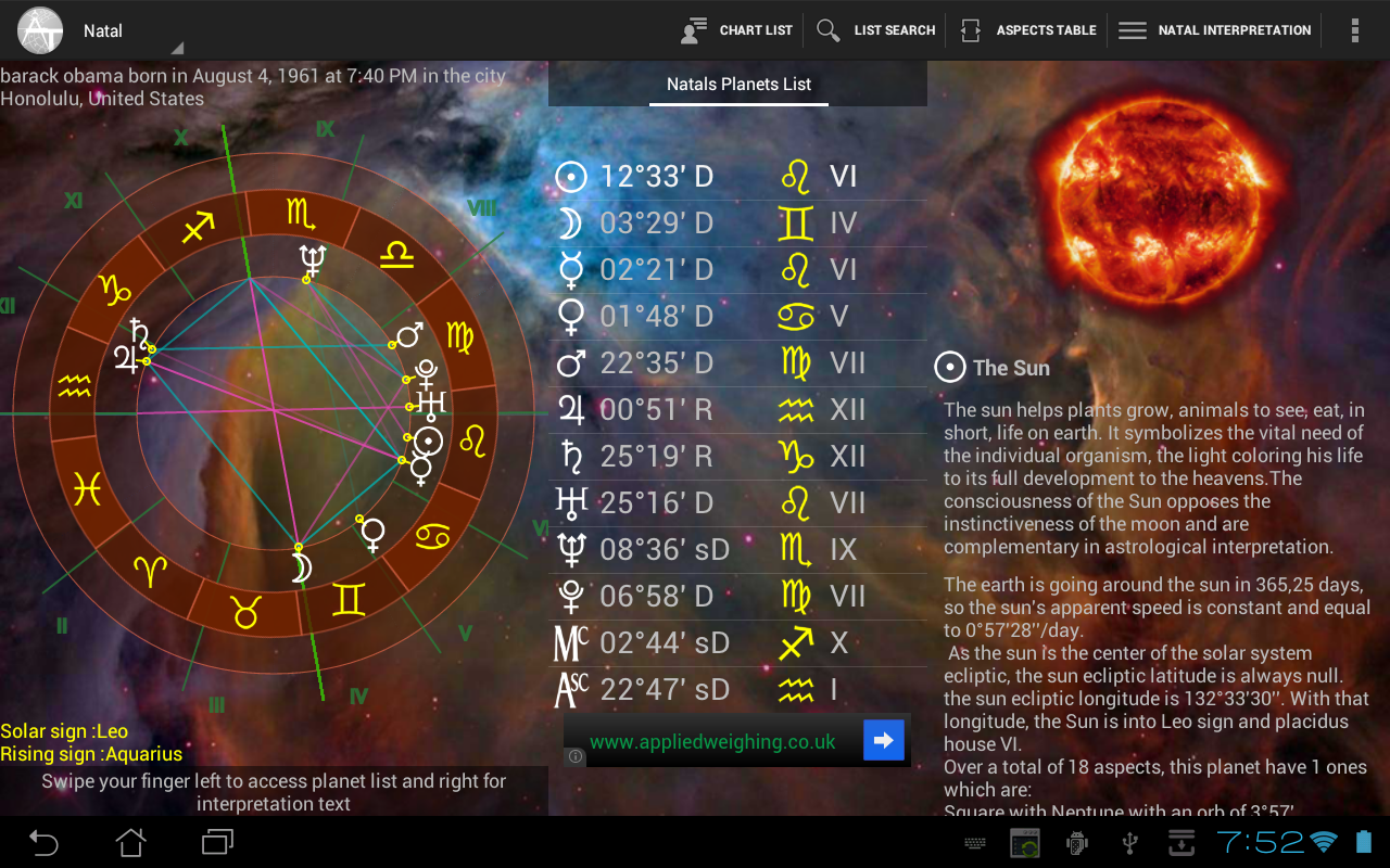 Astrotab free android apps on google play astrotab free screenshot nvjuhfo Image collections