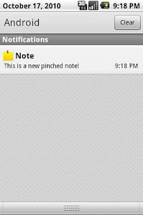 Pinched Notes HD - screenshot thumbnail