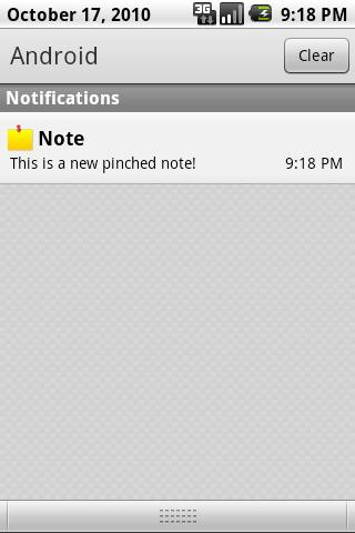 Pinched Notes HD - screenshot