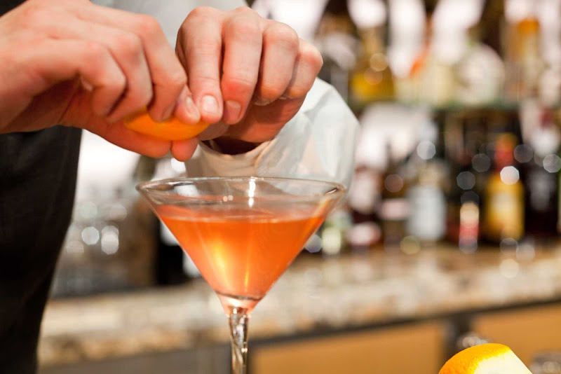 You'll find a wide selection of traditional and modern cocktails at the R Bar on Grandeur of the Seas.