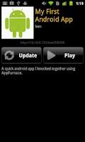 Screenshot of AppFurnace Player