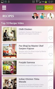 Sanjeev kapoor official app android apps on google play sanjeev kapoor official app screenshot thumbnail forumfinder Images