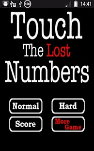 Touch the Lost Numbers- screenshot thumbnail