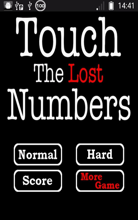 Touch the Lost Numbers- screenshot